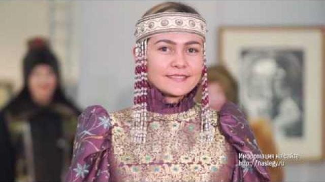 Анна Зверева о якутском национальном костюме
